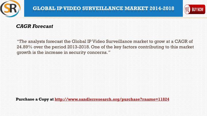 Global ip video surveillance market 2014 20181