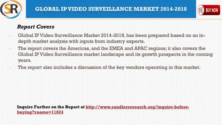 Global ip video surveillance market 2014 20182