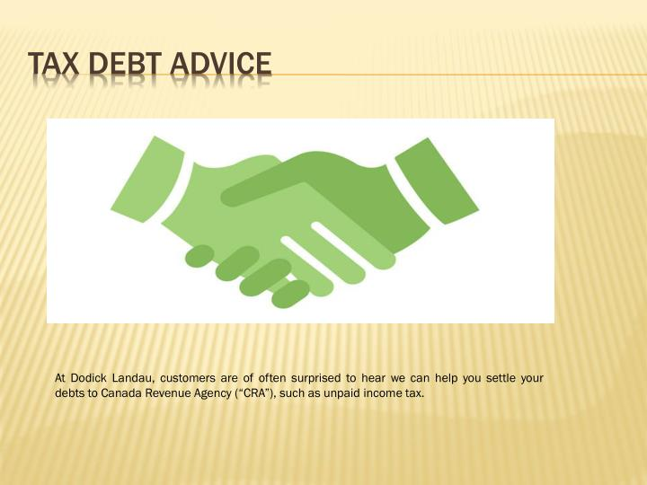 Tax Debt Advice
