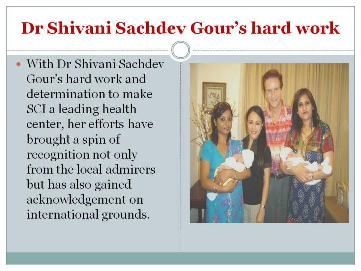Dr shivani sachdev gour and surrogacy