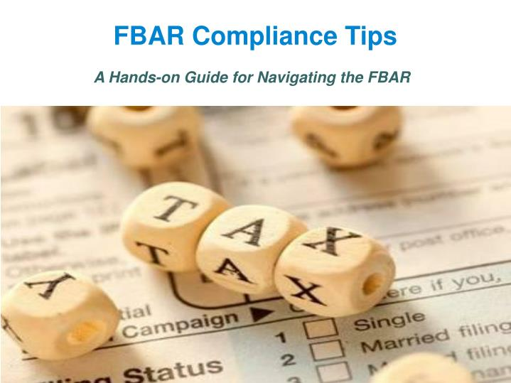 a hands on guide for navigating the fbar n.
