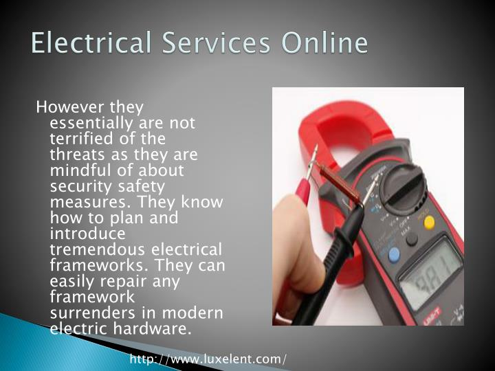 Electrical Services Online