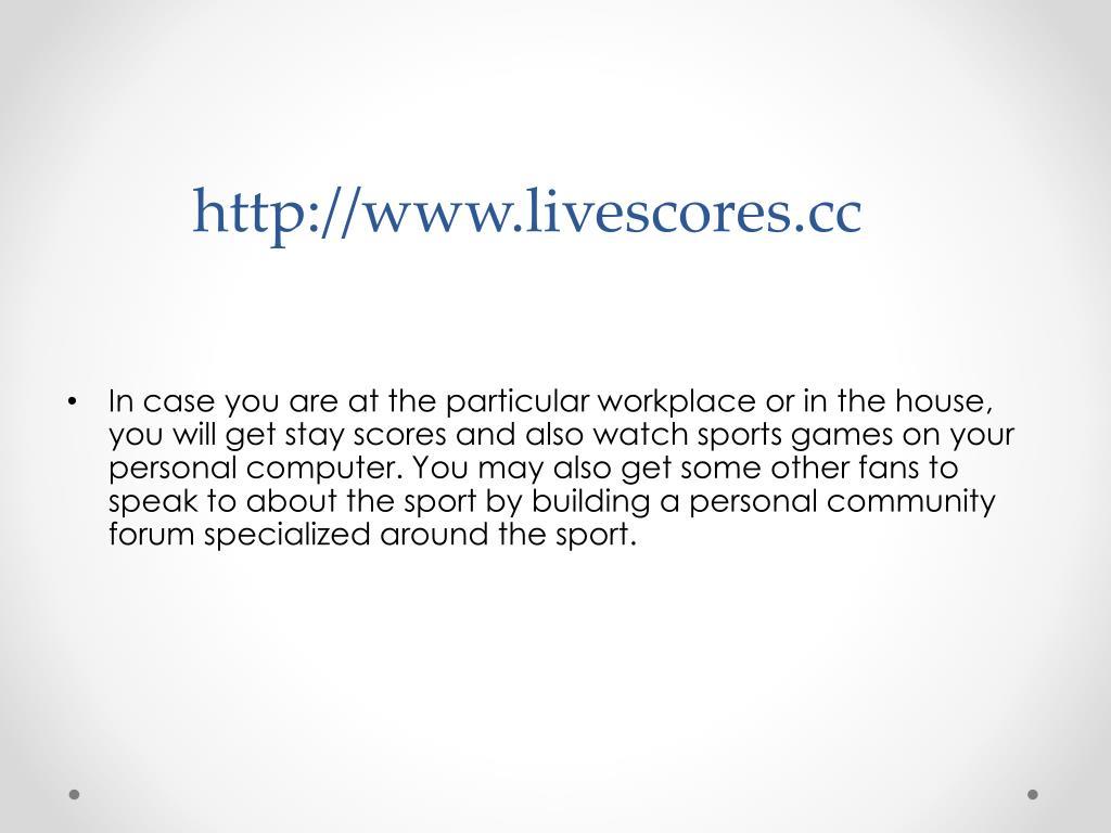 Livescore Cc