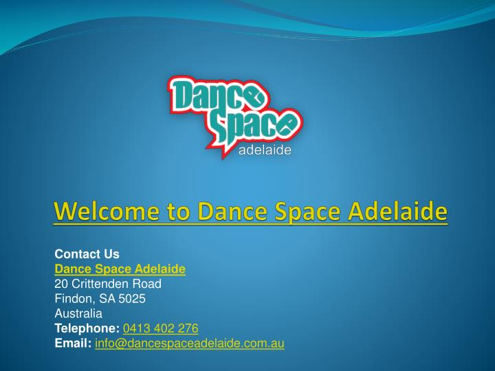 welcome to dance space adelaide n.