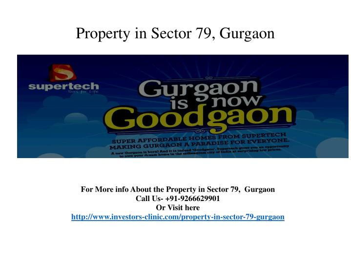 property in sector 79 gurgaon n.