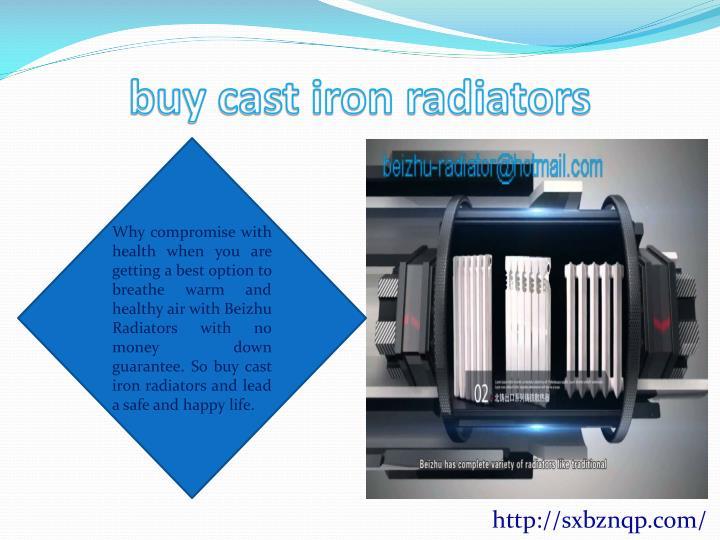 buy cast iron radiators