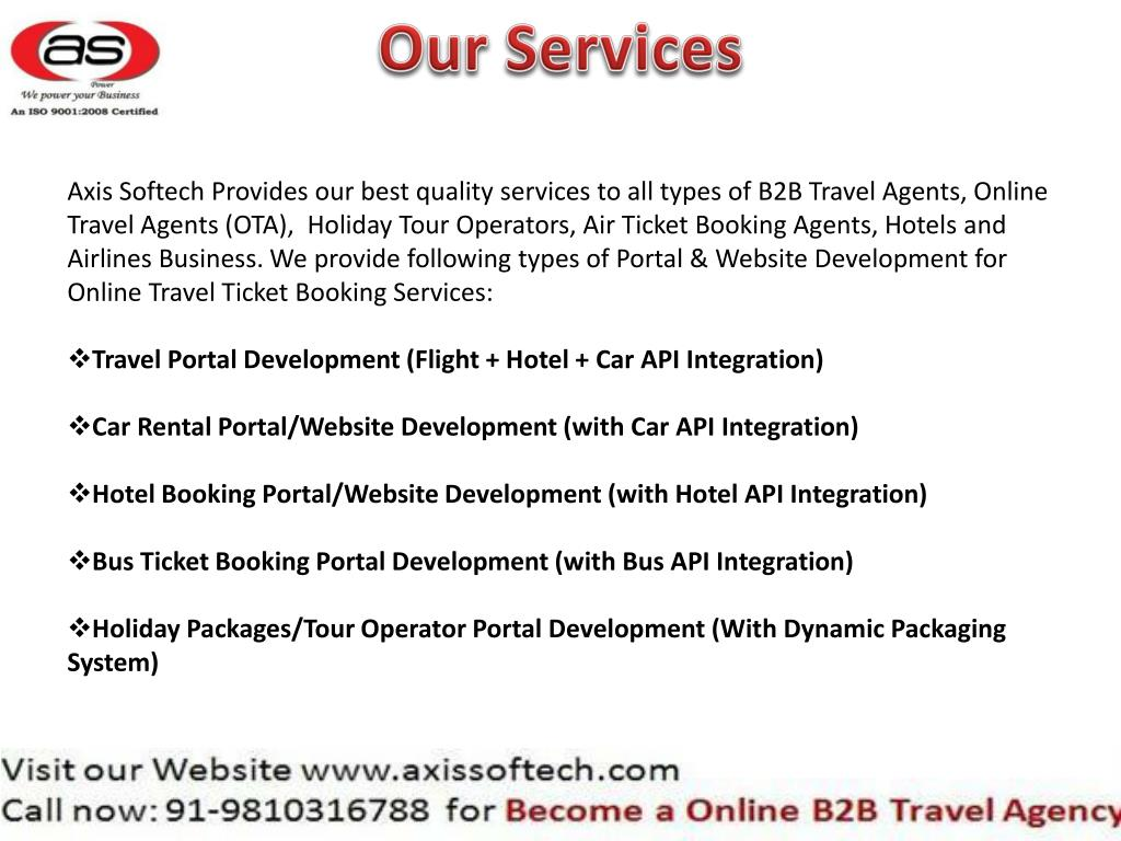 PPT - website-design-for-travel-agency PowerPoint