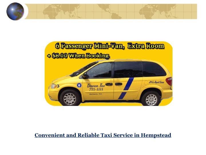 Convenient and Reliable Taxi Service in Hempstead