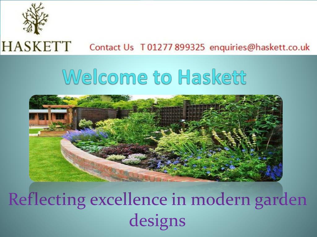 PPT - Modern Garden Design by Landscape Gardeners in Essex
