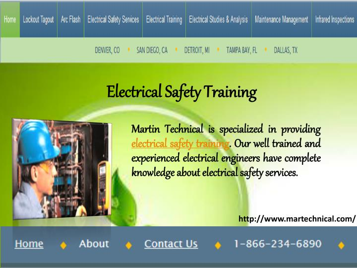 electrical safety training n.