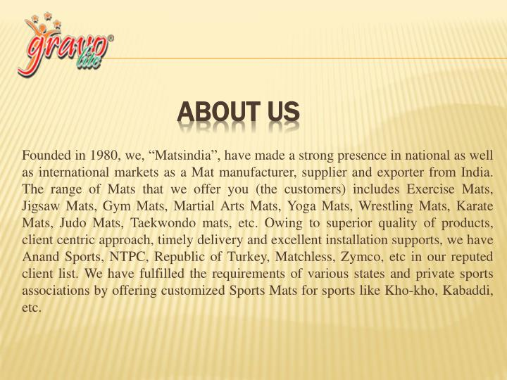 Founded in 1980, we,