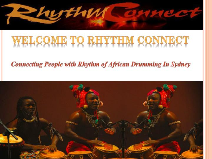 Welcome to Rhythm Connect