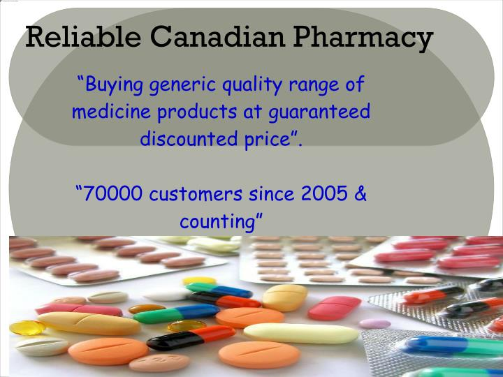 Reliable canadian pharmacy