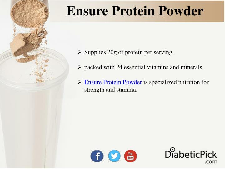 Ensure protein powder