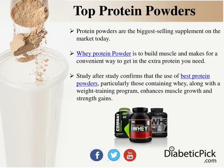 Top protein powders1