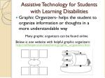 assistive technology for students with learning disabilities1