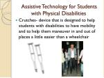 assistive technology for students with physical disabilities1