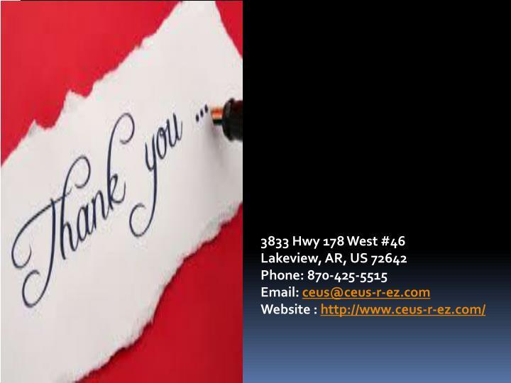 3833 Hwy 178 West #46