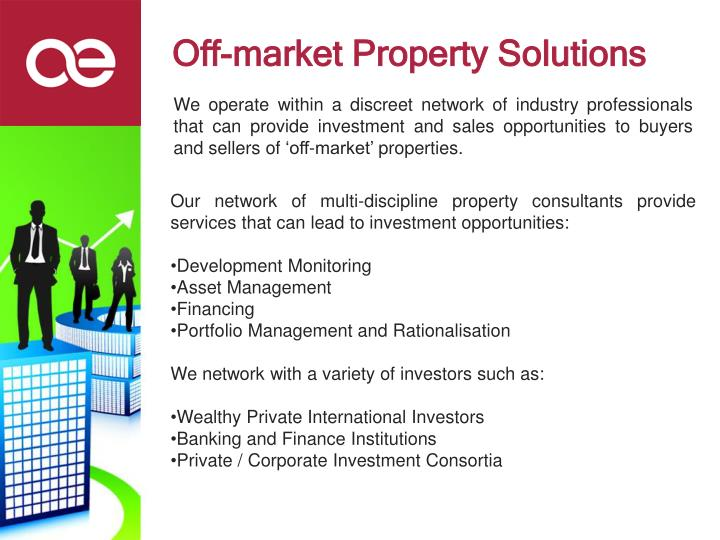 Off market property solutions