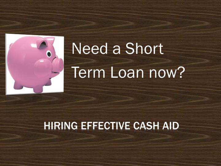 need a short term loan now n.