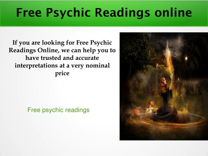 PPT - Free psychic readings online PowerPoint Presentation - ID:7166215
