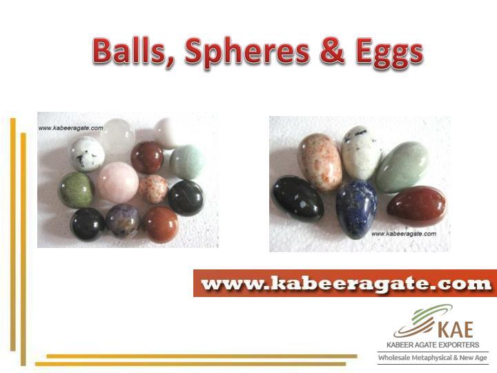 Balls, Spheres & Eggs