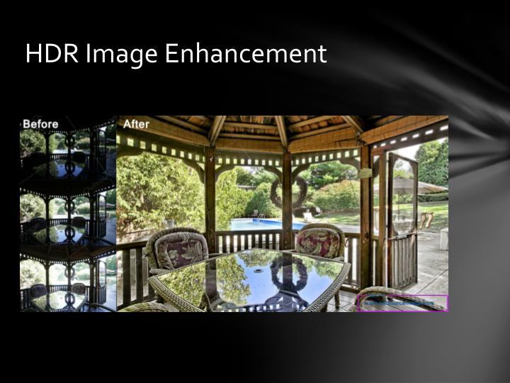 HDR Image Enhancement