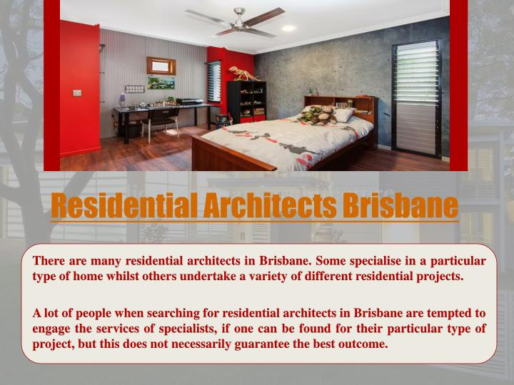residential architects brisbane n.