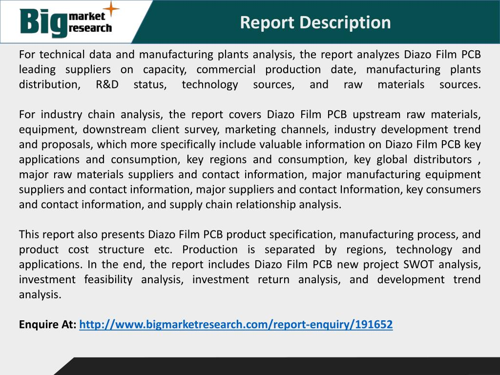 PPT - Global Diazo Film PCB Industry PowerPoint Presentation