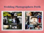 wedding photographers perth