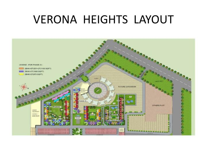 VERONA  HEIGHTS  LAYOUT