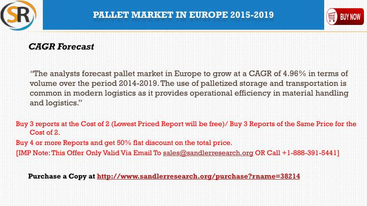 Pallet market in europe 2015 20191