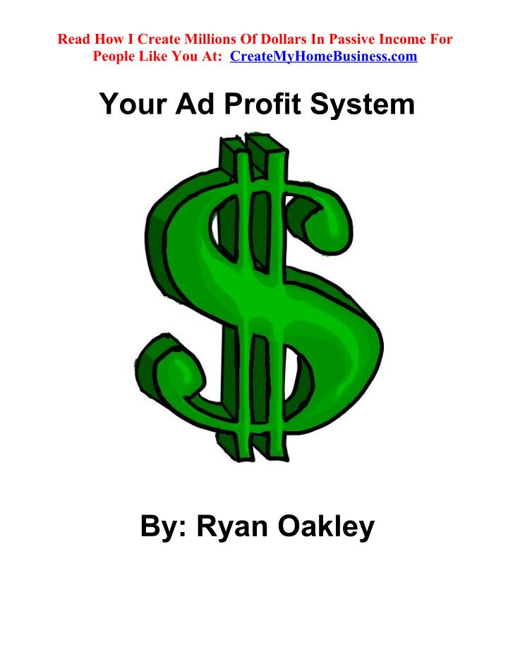 Read How I Create Millions Of Dollars In Passive Income For