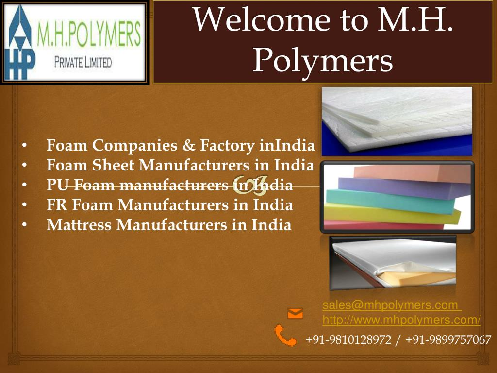 PPT - Foam Sheet Manufacturers in India PowerPoint