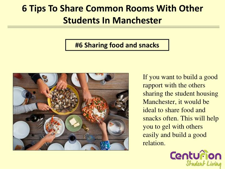 6 Tips To Share Common Rooms With Other Students In Manchester