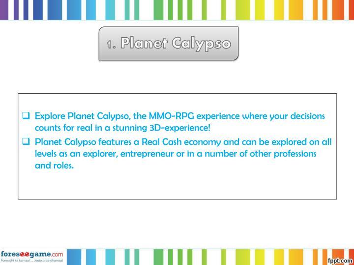 1. Planet Calypso
