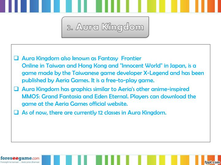 2. Aura Kingdom