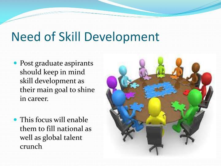 Need of skill development