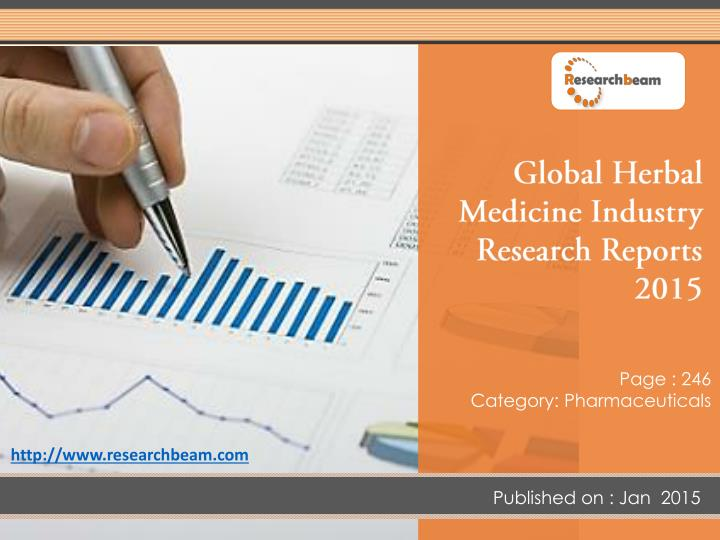 Global Herbal Medicine Industry Research Reports 2015