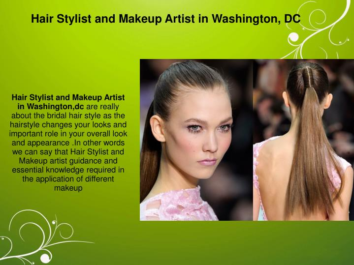 Hair Stylist and Makeup Artist in Washington, DC