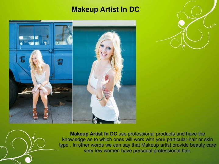 Makeup Artist In DC