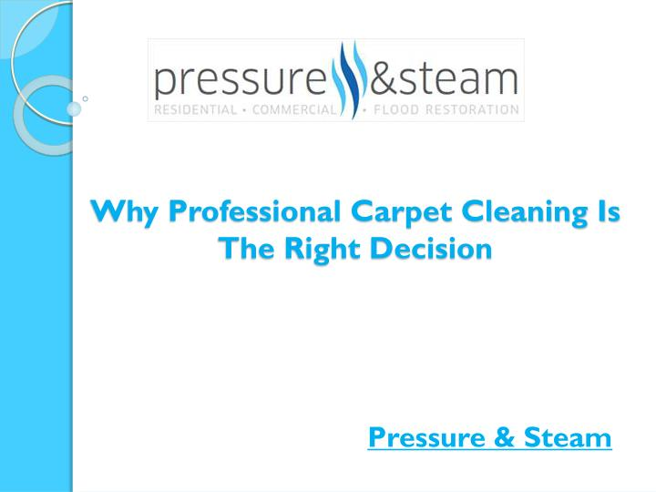 why professional carpet cleaning is the right decision n.
