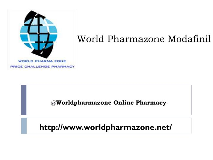 world p harmazone modafinil
