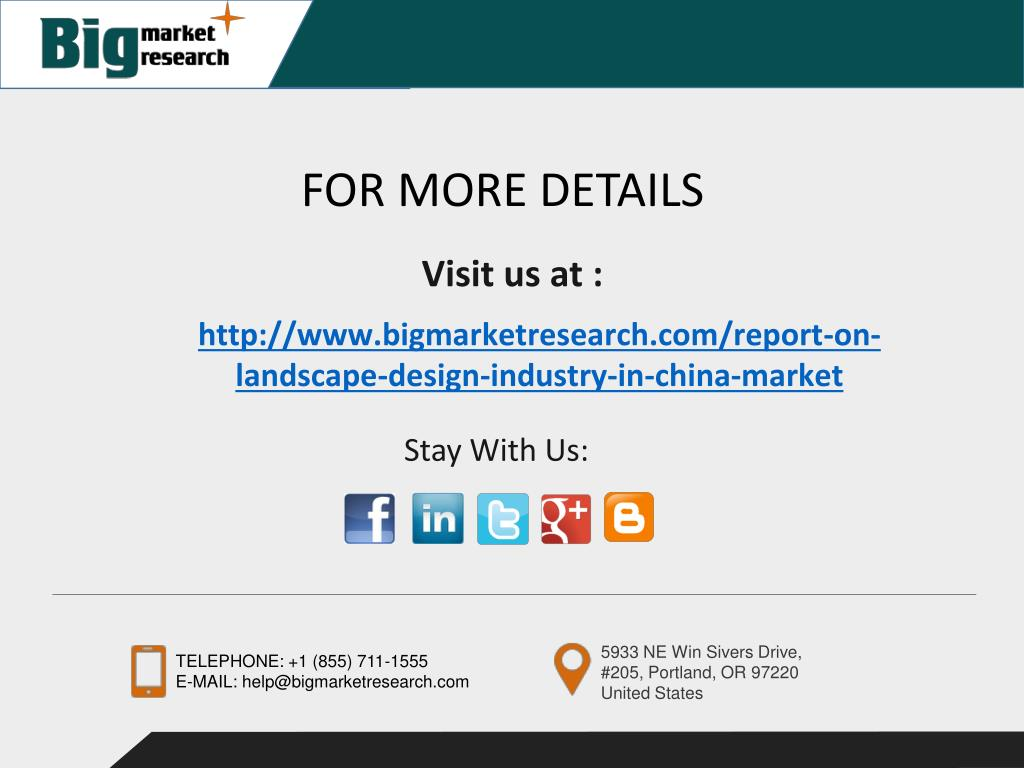 Ppt Landscape Design Industry In China Powerpoint Presentation Free Download Id 7169227