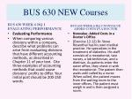 bus 630 new courses10