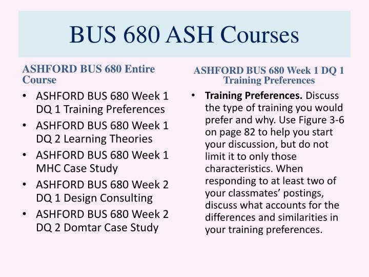Bus 680 ash courses1