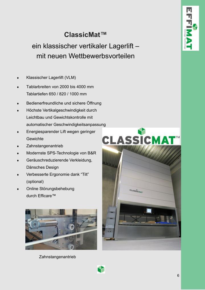 ClassicMat™