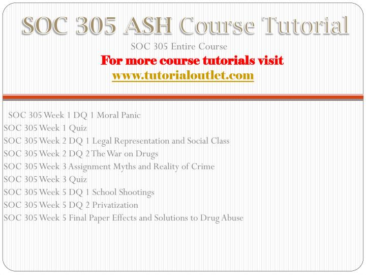 soc305 week 2 assignment