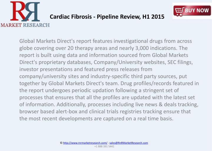 Cardiac Fibrosis - Pipeline Review, H1 2015