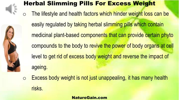 Herbal Slimming Pills
